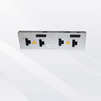 三级极125A后出线268薄型电路分配转接器(用于37.5型材1
