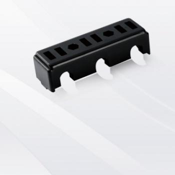 三极进线插头支架