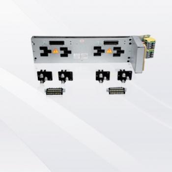 DXFZ-5型 三(四)极125A旁出线薄型电路分配转接器